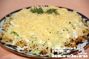 salat s garenim kartofelem dier 6 Салат с жареным картофелем Диёр