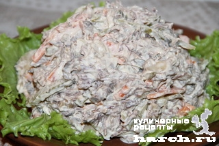 салат охотничий рецепт с фото