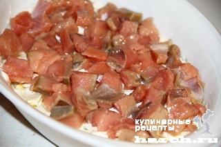 salat s krasnoy riboy i ikroy nega 3 ����� � ������� ����� � ����� ����