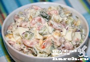 Кабачки с рисом салат на зиму
