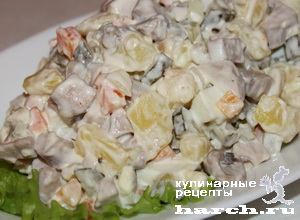 """Салат с молоками лососевых рыб """"Каспий"""""""