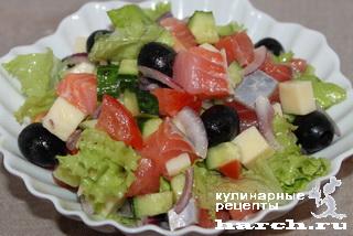 салат из росольного сыра