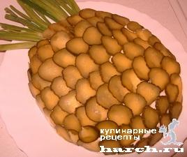 salat s yasikom ananas 12 Салат с языком Ананас