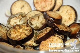 """Салат-закуска из баклажанов с сельдереем """"Капоната"""""""