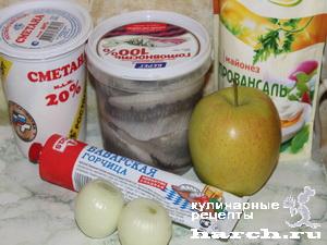 Сельдь под пикантным соусом по-московски