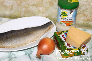 Селедочная паста с сыром