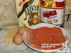 Семга в сырном кляре