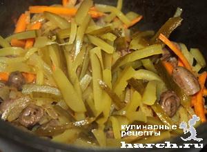 serdechki tushenie s solenimi ogurcami po mihailovski 4 Сердечки, тушеные с солеными огурцами по михайловски