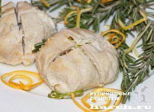 Шарики из куриной грудки с цитрусовыми