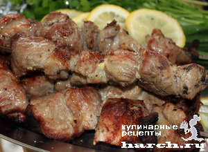 Куриный шашлык в айране – кулинарный рецепт