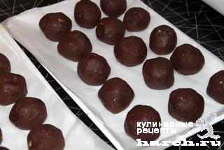 Шоколадные мини-пирожные