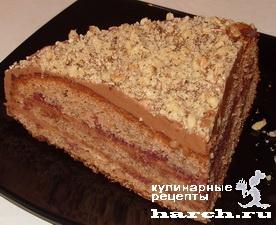 """Шоколадный торт """"Маркиза"""""""