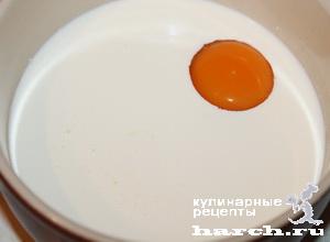 Сырники, запеченные в сливочном соусе