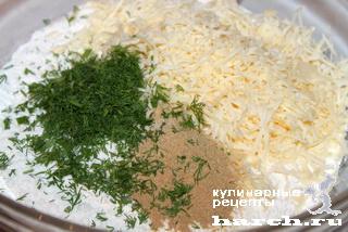 Сырный батончик с луком и горчицей