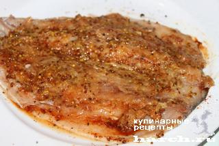 Скумбрия, соленая в морозилке