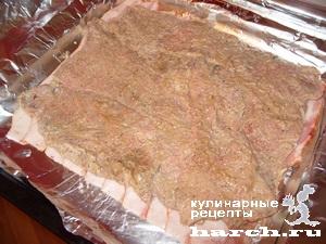 sochniy svinoi rulet s pomidorami i sirom 06 Сочный свиной рулет с помидорами и сыром