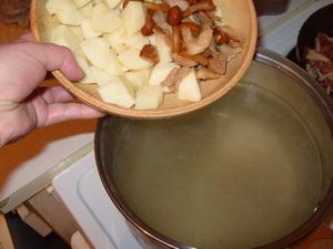 solyanka gribnaya s solenimi gruzdyami 08 Солянка грибная с солеными груздями
