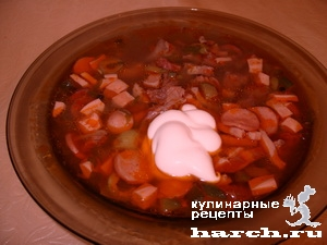 solyanka sbornaya myasnaya 12 Солянка сборная мясная