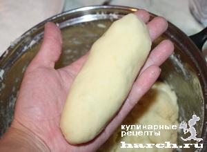 Сосиски в картофельном пюре
