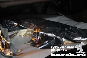 sterlyad farshirovanaya semgoy i gribami 08 Стерлядь, фаршированная семгой и грибами