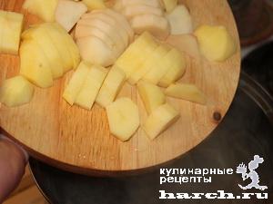 Суп с куриными сердечками, гречкой и грибами