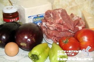 svinie eskalopy s baklaganami i brinsoy po grecheski 02 Свиные эскалопы с баклажанами и брынзой по гречески
