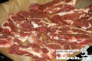svinie eskalopy s baklaganami i brinsoy po grecheski 07 Свиные эскалопы с баклажанами и брынзой по гречески