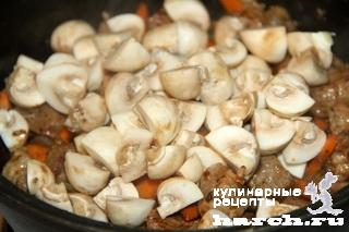 svinina s fasoliu i perlovkoy po zakarpatsky 05 Свинина с фасолью и перловкой по закарпатски