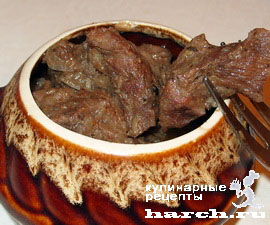 svinina v granatovom souse v gorshochke 51 Свинина в гранатовом соусе в горшочке