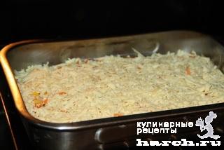 Свинина, запеченная с морковью и кукурузой