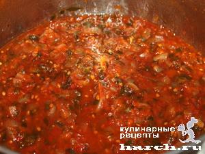 Томатный соус с луком
