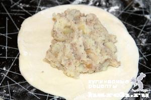 Тонкие пирожки на кефире