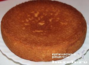 "Торт ""Рафаэлло"" с персиками"