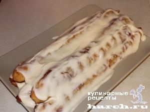 tort sloeniy vishnya pod snegom 09 Торт слоеный Вишня под снегом