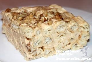 Рецепт торта из заварного теста с фото