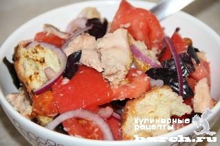Тосканский хлебный салат