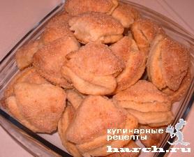 Творожное печенье Поцелуйчик