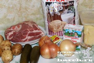 Воронцовские пирожки со свининой и картофелем