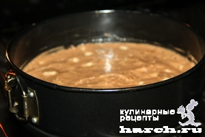 Яблочный шоколадный пирог