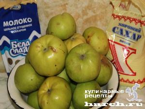"""Яблочное пюре со сгущенкой """"Неженка"""""""