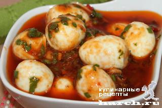 Яйца, маринованные по-итальянски