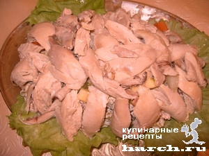 zakuska kura pod maionesom 13 Закуска Кура под майонезом
