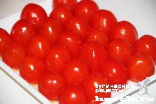 Закусочные помидорки с брынзой