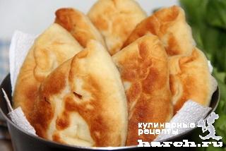 zavarnie drogevie pirogki s kapustoy i gribami 15 Заварные дрожжевые пирожки с капустой и грибами