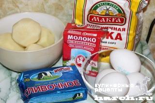 zavarnie kartofelnie ponchiki 01 Заварные картофельные пончики