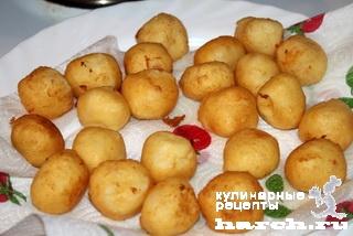 Заварные картофельные пончики