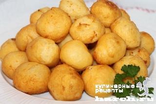 zavarnie kartofelnie ponchiki 12 Заварные картофельные пончики