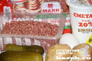 """Зразы под луковым соусом """"Орловские"""""""